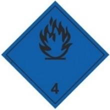 Знак опасности № 4.3