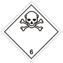 Знак опасности № 6.1